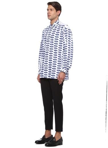 Versace Gömlek Mavi